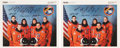 Autographs:Celebrities, Space Shuttle Endeavour (STS-57) Crew-Signed Color Photos(Two). ... (Total: 2 Items)