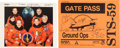 Autographs:Celebrities, Space Shuttle Endeavour (STS-59) Crew-Signed Color Photo and Gate Pass. ... (Total: 2 Items)