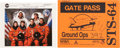 Autographs:Celebrities, Space Shuttle Discovery (STS-63) Crew-Signed Color Photo and(STS-64) Signed Gate Pass. ... (Total: 2 Items)