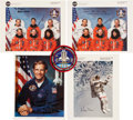 Autographs:Celebrities, Space Shuttle Discovery (STS-64) Crew-Signed Color Photos(Two), with Additional Signed Photos and Memorabilia. ... (Total: 7Items)