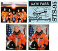 Autographs:Celebrities, Space Shuttle Discovery (STS-95) Crew-Signed Color Photo andGate Pass, with Additional Signed Photos and Memorabi... (Total: 8Items)