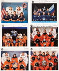 Autographs:Celebrities, Space Shuttle Atlantis (OV-104) Crew-Signed Color PhotoCollection. ... (Total: 6 Items)
