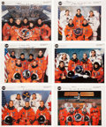 Autographs:Celebrities, Space Shuttle Endeavour (OV-105) Crew-Signed Color PhotoCollection. ... (Total: 6 Items)