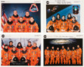 Autographs:Celebrities, Space Shuttle Discovery (OV-103) Crew-Signed Color PhotoCollection.... (Total: 4 Items)