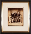 Photography:Studio Portraits, Sitting Bull, Red Cloud, Spotted Tail, and Swift Bear: An Important 1875 Photo of the Famous Chiefs. ...