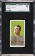 Baseball Cards:Singles (Pre-1930), 1909-11 T206 Hindu (Brown) Cy Young Portrait SGC 60 EX 5. ...