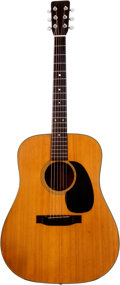 Musical Instruments:Acoustic Guitars, 1967 Martin D-18 Natural Acoustic Guitar, Serial # 226172....