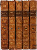 Books:Fine Bindings & Library Sets, [Reverend Edward Foster, translator]. The Arabian Nights. London: Miller, 1802. Five octavo volumes. Illustrated. Co... (Total: 5 Items)