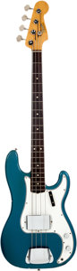 Musical Instruments:Bass Guitars, 1965 Fender Precision Bass Lake Placid Blue Bass Guitar, Serial # 110489. ...