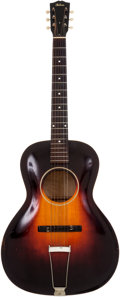 Musical Instruments:Acoustic Guitars, 1930's Gibson L-2 Sunburst Archtop Acoustic Guitar, Serial # 1044....