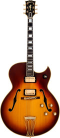 Musical Instruments:Electric Guitars, 1968 Gibson Byrdland Sunburst Semi-Hollow Body Electric Guitar,Serial # 527064. ...