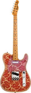 Musical Instruments:Electric Guitars, 1968 Fender Telecaster Paisley Solid Body Electric Guitar, Serial #251715....