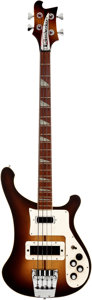 Musical Instruments:Bass Guitars, 1973 Rickenbacker Autumnglo Bass Guitar, Serial # MD 14801. ...