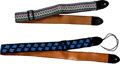 Musical Instruments:Miscellaneous, Early 1980s Ace Guitar Strap Lot of 2. ...
