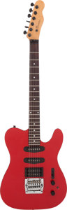 Musical Instruments:Electric Guitars, 1990s Buscarino Telstar Copy Red Solid Body Electric Guitar, Serial# 022751C....