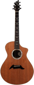 Musical Instruments:Acoustic Guitars, 2000s Breedlove Masterclass Focus SE Natural Acoustic Guitar, Serial # 14008. ...