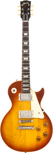 Musical Instruments:Electric Guitars, 1954 Gibson Les Paul Conversion Sunburst Solid Body Electric Guitar, Serial # 4 0601....