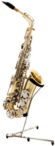 Musical Instruments:Horns & Wind Instruments, 2000's Selmer Model AS-300 Brass Alto Saxophone, Serial # 1311235. ...
