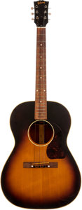 Musical Instruments:Acoustic Guitars, 1955 Gibson LG-2 Sunburst Acoustic Guitar, Serial # W2888. ...