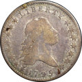 Early Half Dollars, 1795 50C 2 Leaves Fine 12 NGC. CAC. O-114, R.6....