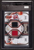 """Basketball Cards:Singles (1980-Now), 2009/10 SP Game Used Edition """"Combo Materials"""" James/Pippen Jersey Swatch #4/155. ..."""