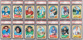 Football Cards:Sets, 1970 Topps Football Complete Set (263) - #8 on the PSA Set Registry. ...
