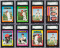 Baseball Cards:Sets, 1975 Topps Baseball High Grade Near Set (659/660) Plus Extra Yount Rookie. ...
