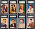 Non-Sport Cards:Sets, 1953 Topps Who-Z-At Star High Grade Complete Set (80) Plus EmptyWax Box. ...