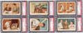 Baseball Cards:Sets, 1959 Fleer Ted Williams Complete Set (80) With PSA NM-MT 8 #68. ...