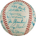 Autographs:Baseballs, 1961 New York Yankees Team Signed Baseball....