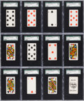 "Non-Sport Cards:Sets, 1888 N84A Duke & Sons ""Playing Cards"" Complete Set (53) WithJoker Card. ..."