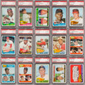 Baseball Cards:Sets, 1965 Topps Baseball High Grade Complete Set (598) With 238 PSAGraded Cards. ...