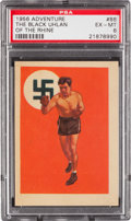 Boxing Cards:General, 1956 Topps Adventure Max Schmeling SP #86 PSA EX-MT 6....