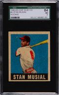 Baseball Cards:Singles (1940-1949), 1948 Leaf Stan Musial #4 SGC 84 NM 7....