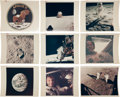 "Photography:Official Photos, Apollo 11 Collection of Seventy Original NASA Glossy Photos, Sixty with ""Red Numbers.""..."