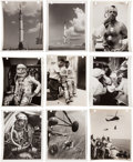 Photography:Official Photos, Mercury-Redstone 3 (Freedom 7) and Alan Shepard: Collectionof Fifty+ Original NASA Glossy Photos. ... (Total: 58 Items)