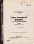 Explorers:Space Exploration, Apollo 10 (CSM 106) NASA Apollo Operations Handbook - Commandand Service Modules, Volume 2 Book. ...