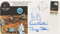 "Explorers:Space Exploration, Apollo 11 Crew-Signed ""Type One"" Insurance Cover Directly from thePersonal Collection of Mission Command Module Pilot Michael..."