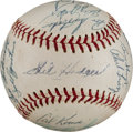 Autographs:Baseballs, 1969 New York Mets Team Signed Baseball....