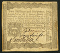 Colonial Notes:Pennsylvania, Pennsylvania April 3, 1772 2s 6d Very Fine-Extremely Fine.. ...