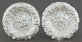 Silver Holloware, American:Bowls, A PAIR OF SHIEBLER SILVER BOWLS . George W. Shiebler & Co., NewYork, New York, circa 1900. The Mauser Manufacturing Compan...(Total: 2 Items)
