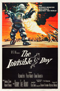 "Movie Posters:Science Fiction, The Invisible Boy (MGM, 1957). One Sheet (27"" X 41"").. ..."