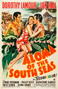 "Movie Posters:Adventure, Aloma of the South Seas (Paramount, 1941). One Sheet (27"" X 41"")....."