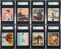 """Non-Sport Cards:Sets, 1911 T38 United Cigar """"The Aviators"""" Complete Master Set (50). ..."""