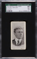 Baseball Cards:Singles (Pre-1930), 1903 E107 Breisch Williams Bill Dahlen, Brooklyn SGC 45 VG+ 3.5....