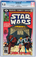 Modern Age (1980-Present):Science Fiction, Star Wars #32 (Marvel, 1980) CGC NM/MT 9.8 White pages....