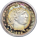 Proof Barber Quarters, 1902 25C PR67+ ★ NGC. CAC....