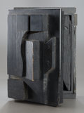 Post-War & Contemporary:Sculpture, LOUISE NEVELSON (American, 1899-1988). Timeless. Paintedwood and metal hardware. 4 x 8-3/4 x 6-1/8 inches (10.2 x 22.2 ...
