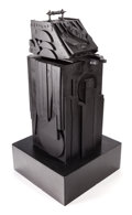 Post-War & Contemporary:Sculpture, LOUISE NEVELSON (American, 1899-1988). Sky Shovel, 1977.Black painted wood. 43 x 18 x 22 inches (109.2 x 45.7 x 55.9 cm...(Total: 3 Items)