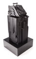 LOUISE NEVELSON (American, 1899-1988) Sky Shovel, 1977 Black painted wood 43 x 18 x 22 inches (109.2 x 45.7 x 55.9 cm...